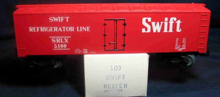 Frank's Roundhouse Swift Refrigerator Line
