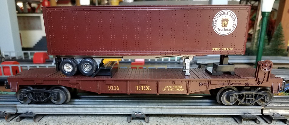 Frank's Roundhouse Trailer Train/Pennsylvania TOFC