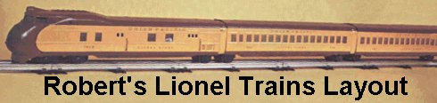 Visit Robert's Lionel Trains Layout!