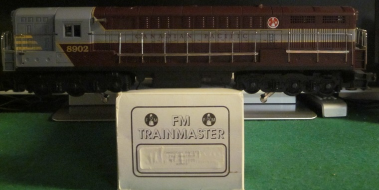 Custom Trains Canadian Pacific FM Trainmaster