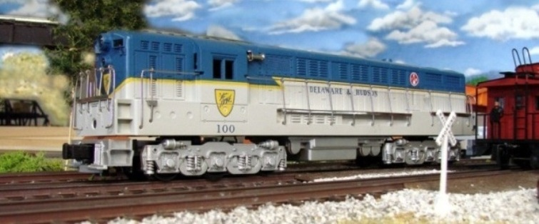 Custom Trains Delaware and Hudson FM Trainmaster