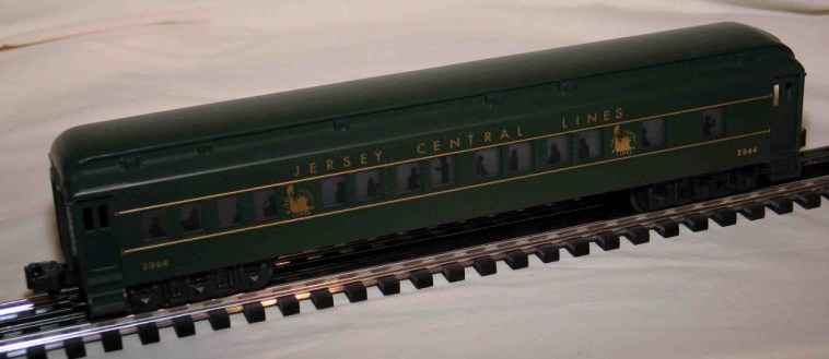 Jersey Central coach car