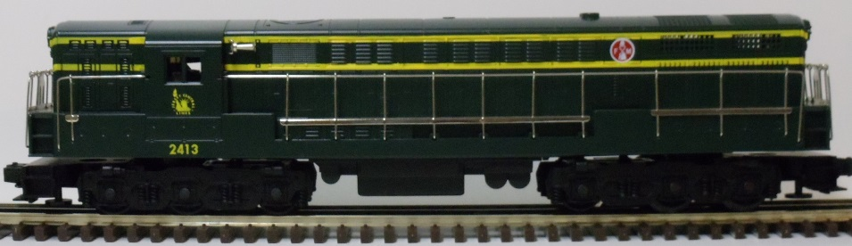 Custom Trains Jersey Central FM Trainmaster