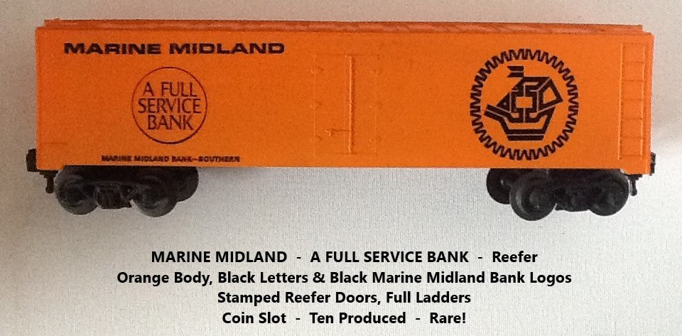 Kris Marine Midland orange bank car