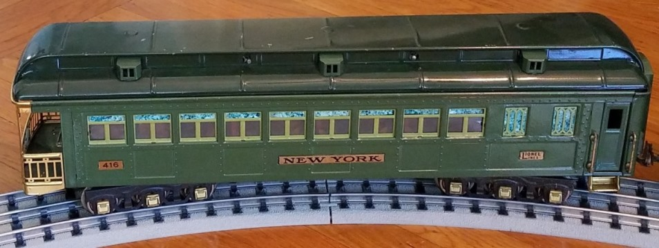 Lionel prewar 416 New York observation