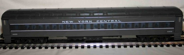 New York Central 6926 gray coach car