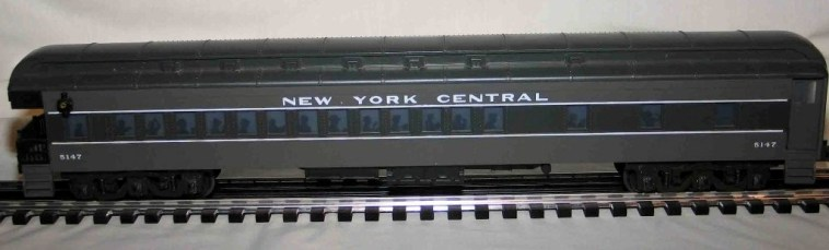 New York Central gray observation car