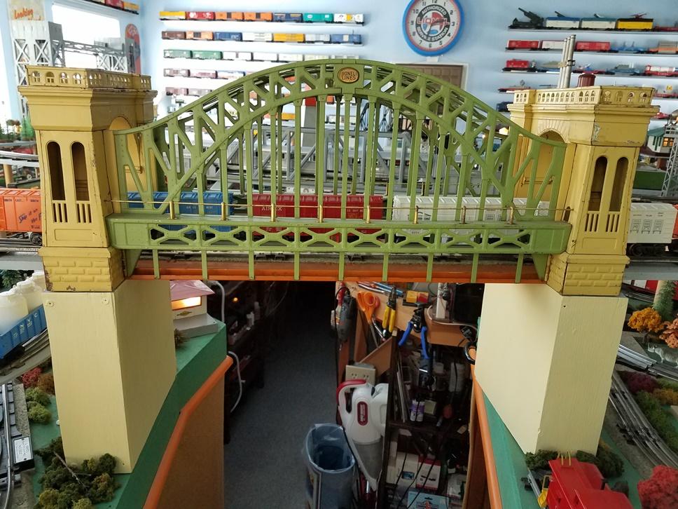 Lionel Prewar 300 Hell Gate Bridge
